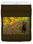 Nute Watches The Vines Duvet Cover by Jean Noren