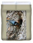 Nuthatch Love Duvet Cover