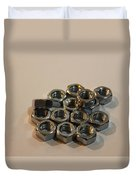 Nuts And Bolts Duvet Cover