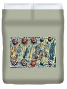 Nuts And Rivets  Duvet Cover