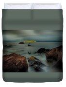 Nuttall Island Last Sunlight Duvet Cover