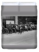 Ny Armored Motorcycle Squad  Duvet Cover