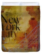 Ny City Collage - 6 Duvet Cover