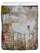 Ny City Collage 7 Duvet Cover
