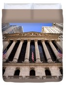 Ny Stock Exchange Duvet Cover