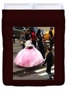 Nyc Ball Gown Walk Duvet Cover
