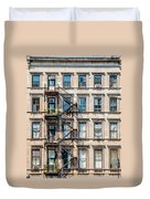 Nyc Building  Duvet Cover