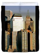 Nyc - Tower Jungle Duvet Cover