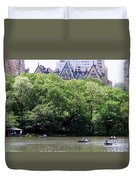 Nyc Urban Oasis Duvet Cover