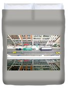 Nyc Urban Reflection Duvet Cover