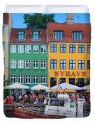 Nyhavn 17 Duvet Cover