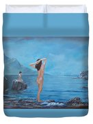 Nymphs Duvet Cover by Sinisa Saratlic