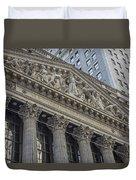 Nyse  New York Stock Exchange Wall Street Duvet Cover