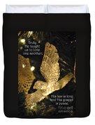 O Holy Night Duvet Cover