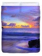 Oahu Sunrise Duvet Cover