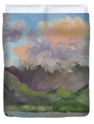Oahu Sunrise Duvet Cover