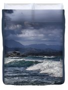 Oahu Surf Duvet Cover