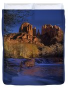 Oak Creek Crossing Sedona Arizona Duvet Cover
