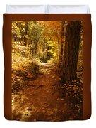 Oak Creek Trail Duvet Cover