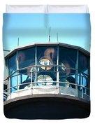 Oak Island Lighthouse Beacon Lights Duvet Cover
