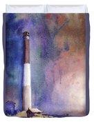 Oak Island Lighthouse Duvet Cover