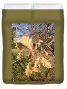 Oak Leaves Duvet Cover