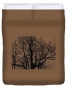 Oak Silhouette  Duvet Cover