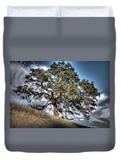 Oak Tree And Moon Duvet Cover