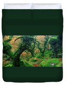 Oak Trees In A Forest, Wistmans Wood Duvet Cover