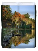 Oakley Corners State Forest Duvet Cover