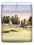 Oakmont Golf Course 14th Duvet Cover