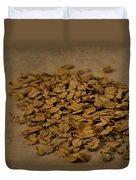 Oatmeal For Breakfast Duvet Cover