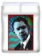 Obama-3 Duvet Cover