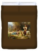 Obedience Duvet Cover