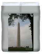 Obelisk - Washington Dc Duvet Cover