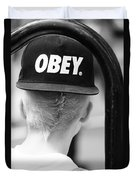 Obey  Duvet Cover