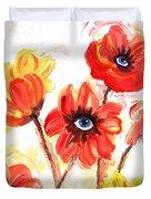 Observant Flowers 101 Duvet Cover