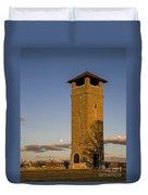 Observation Tower Duvet Cover