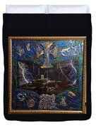 Observatory Life By Alfredo Garcia Duvet Cover