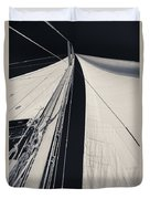 Obsession Sails 2 Black And White Duvet Cover