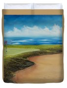 Obstacles To A Beautiful Game Duvet Cover