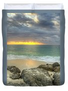 Ocean At Dawn Duvet Cover