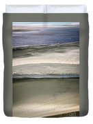 Ocean At Low Tide Duvet Cover