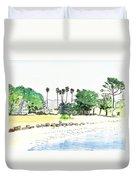 Ocean Beach Duvet Cover
