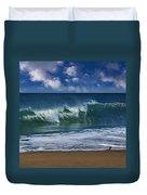 Ocean Blue Morning 2 Duvet Cover