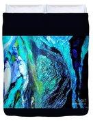 Ocean Blues Duvet Cover