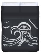 Ocean Eagle Eye Duvet Cover