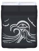 Ocean Eagle Eye Duvet Cover by A Cyaltsa Finkbonner