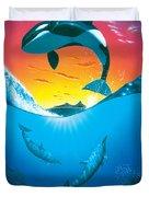 Ocean Freedom Duvet Cover