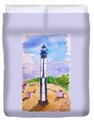 Ocean Lighthouse Duvet Cover